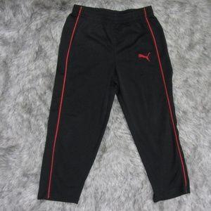 Puma Black & Red Sweat Pants Size 4T